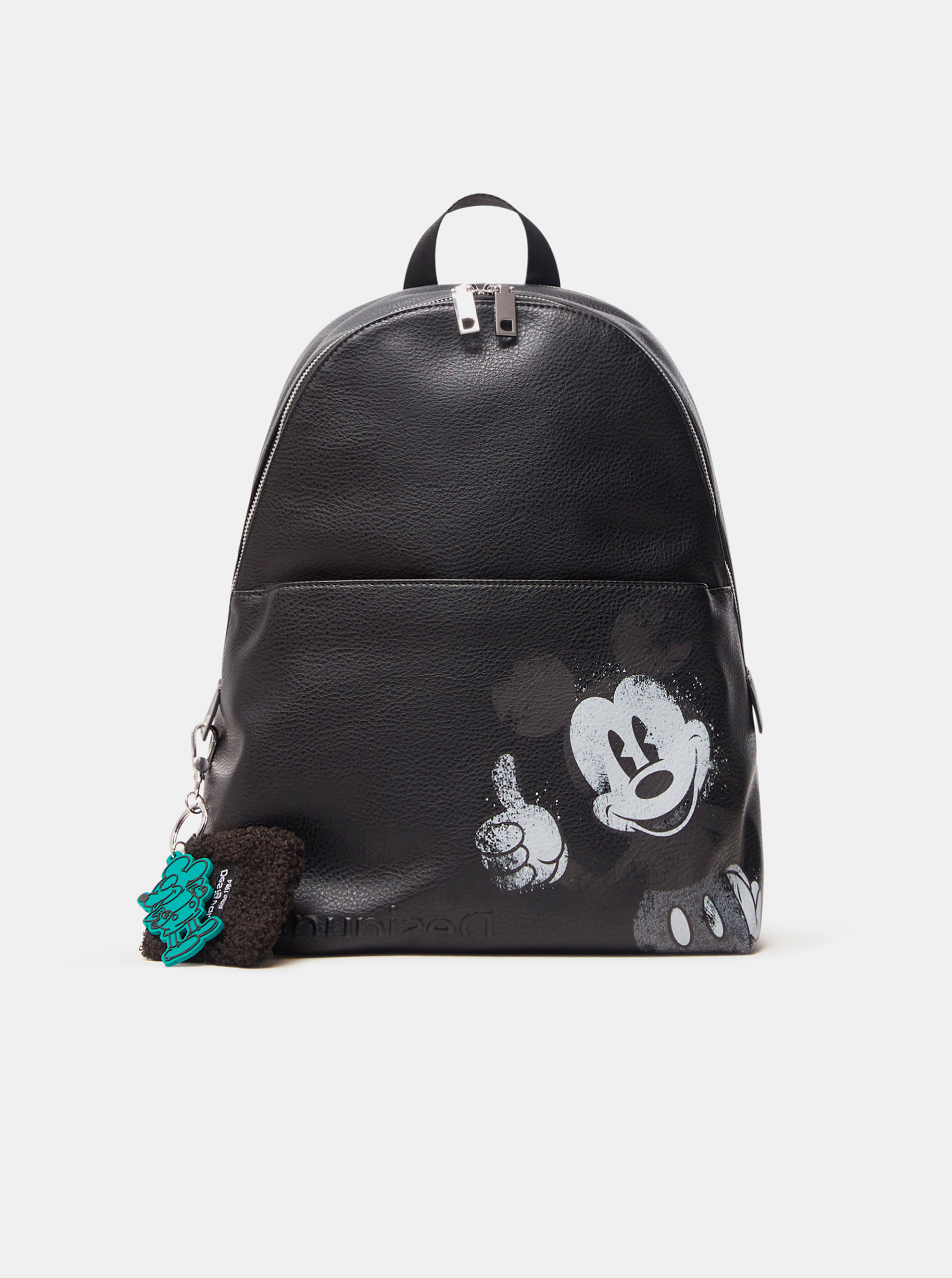 Desigual črna nahrbtnik Mickey Mombasa 2zippers