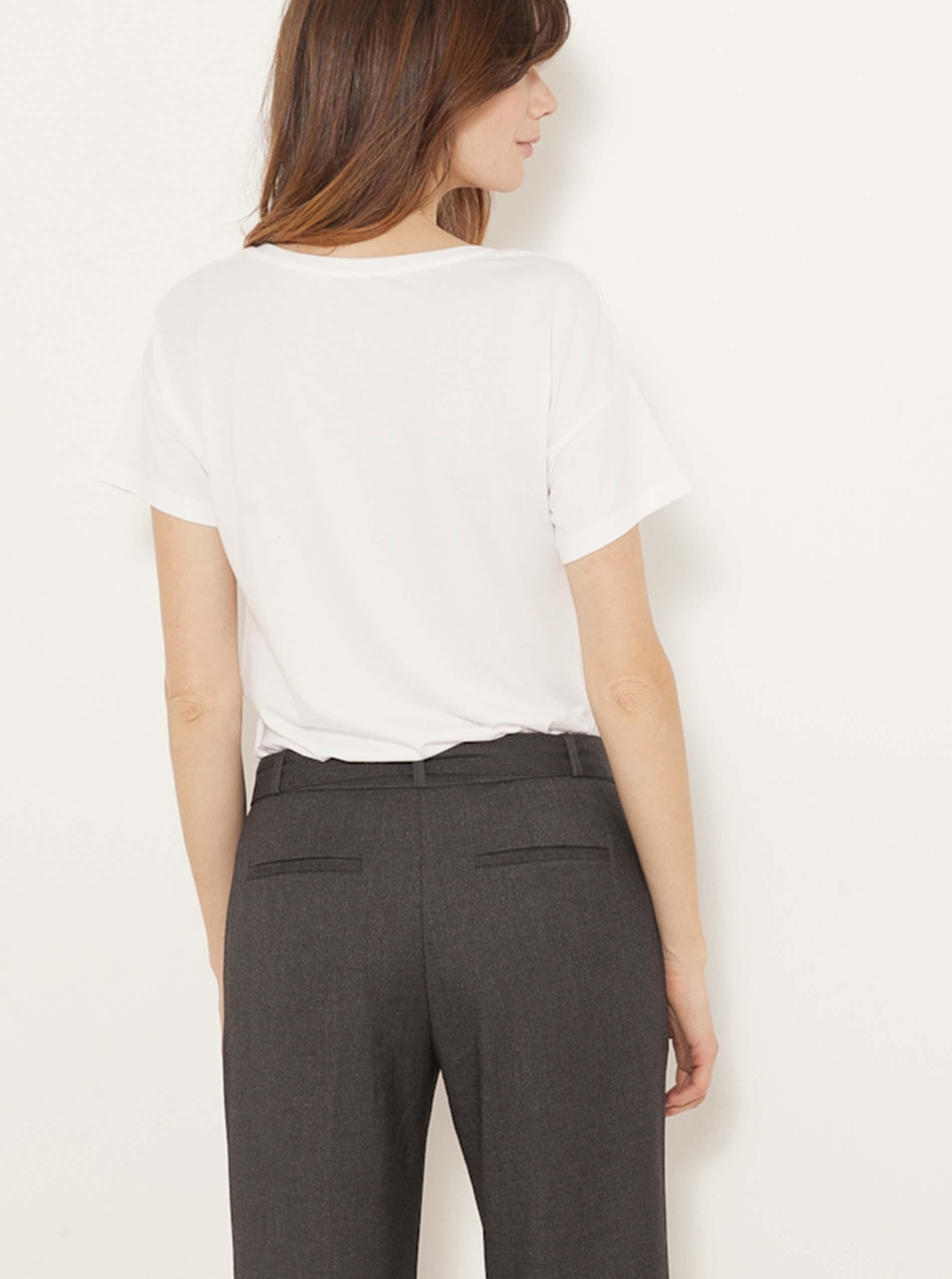 CAMAIEU Ženske majice bela