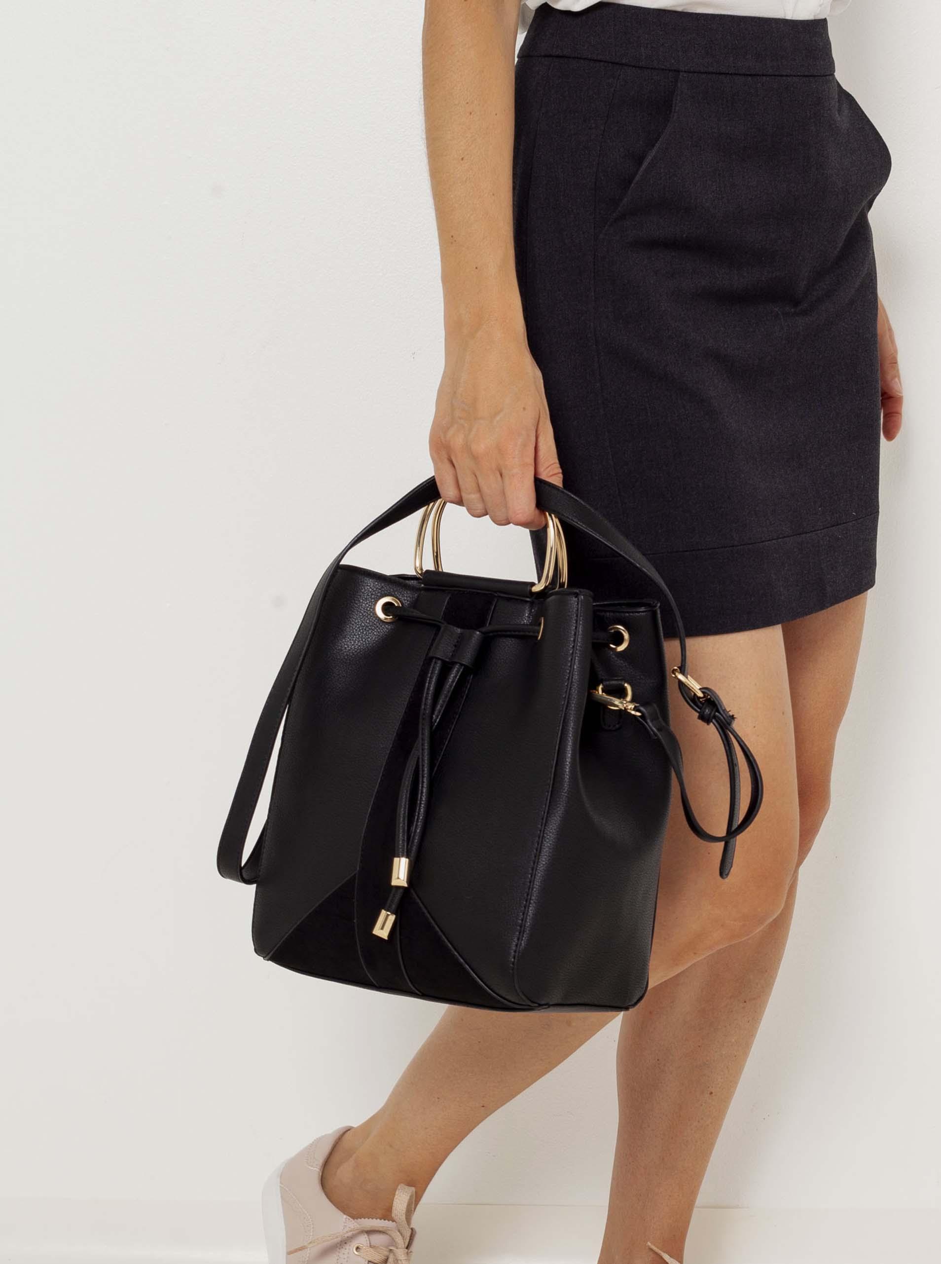 CAMAIEU Ženske torbice črna