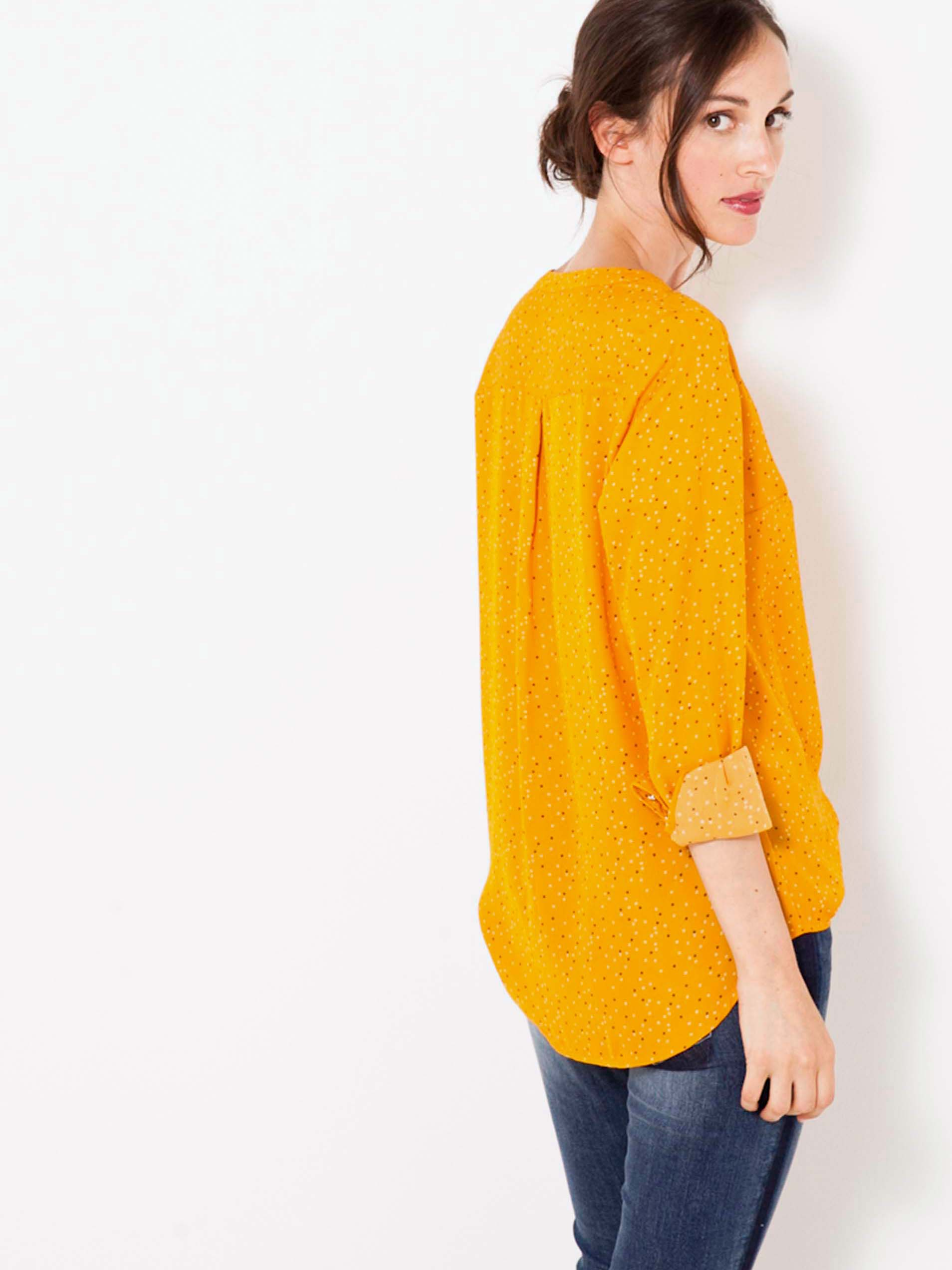 CAMAIEU Ženske bluze rumena