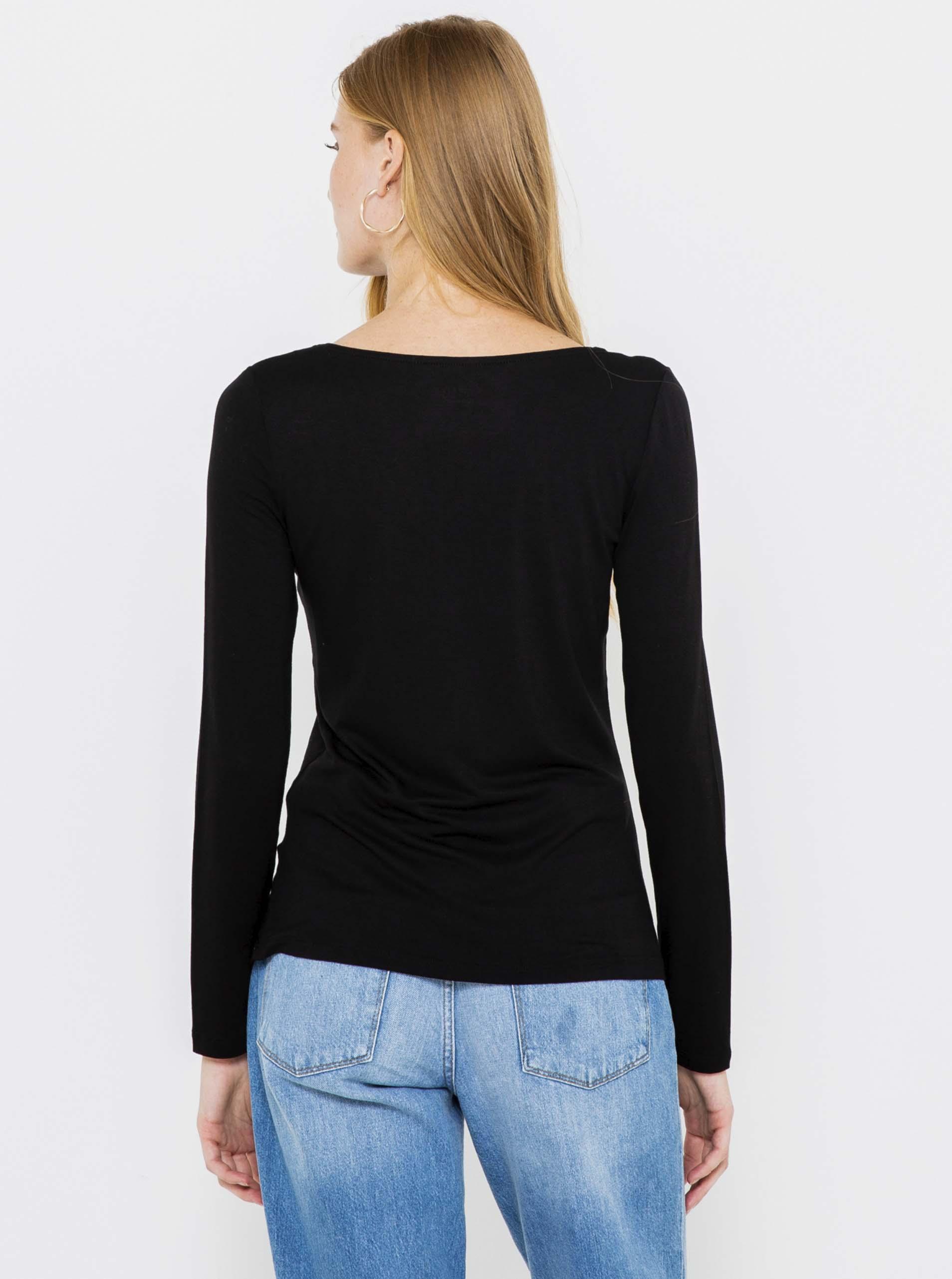 CAMAIEU Ženske majice črna