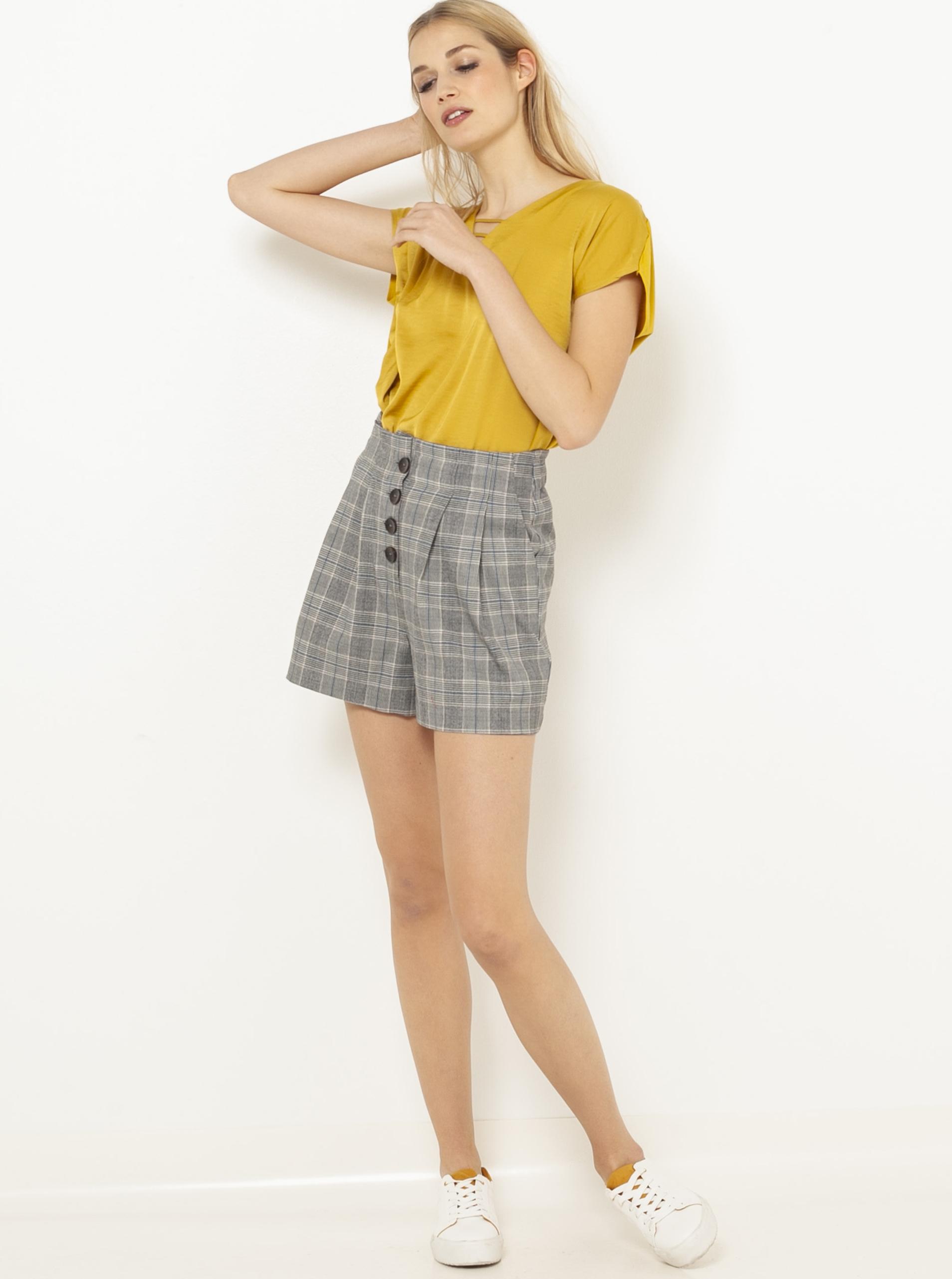 CAMAIEU Ženske majice gorčica