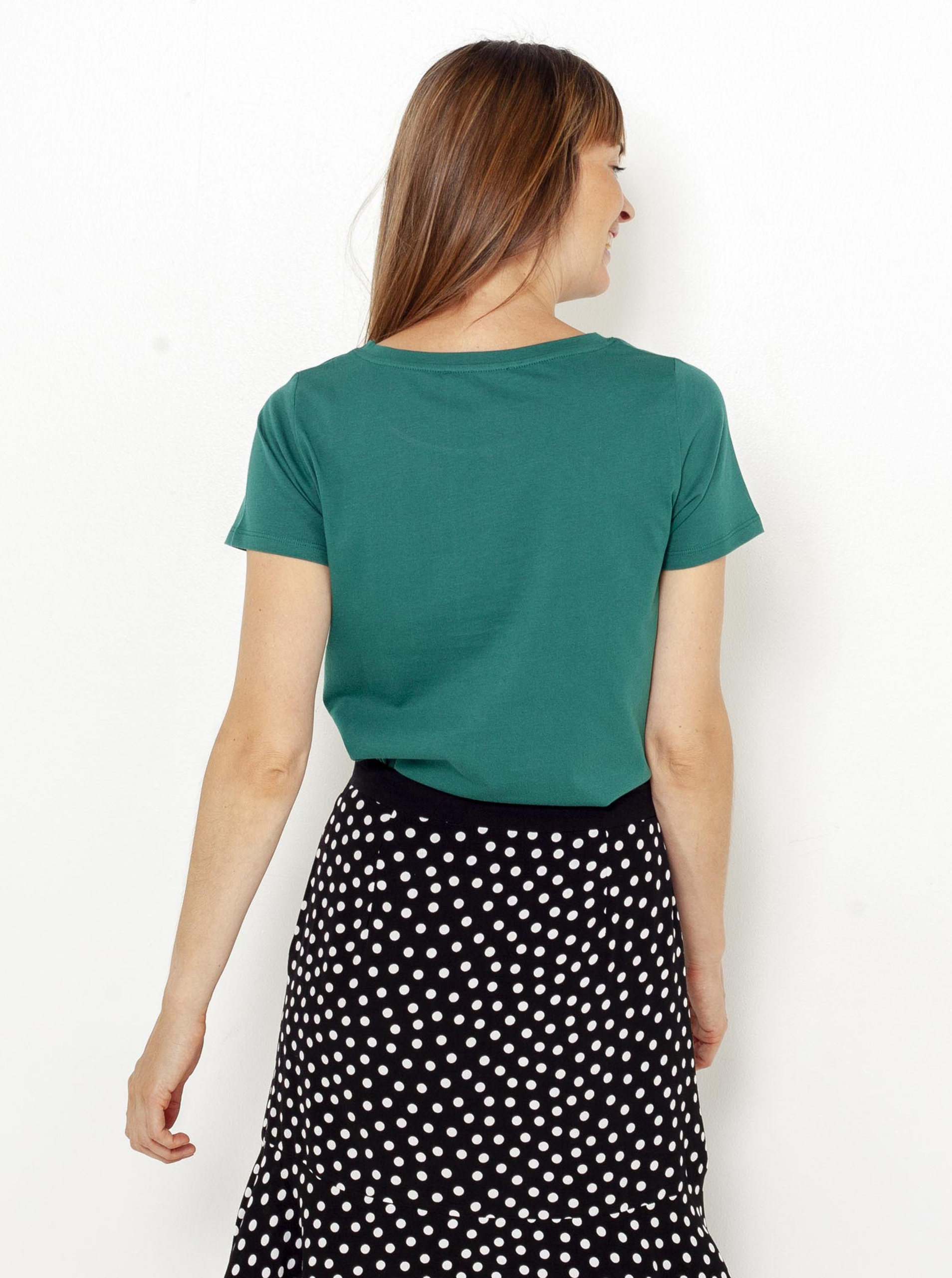 CAMAIEU Ženske majice zelena