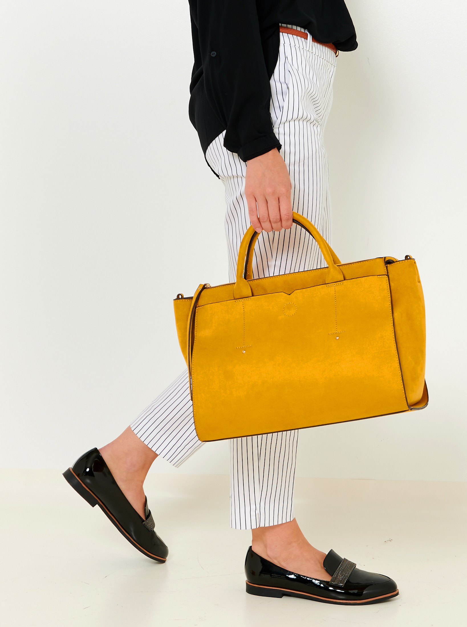 CAMAIEU Ženske torbice gorčica