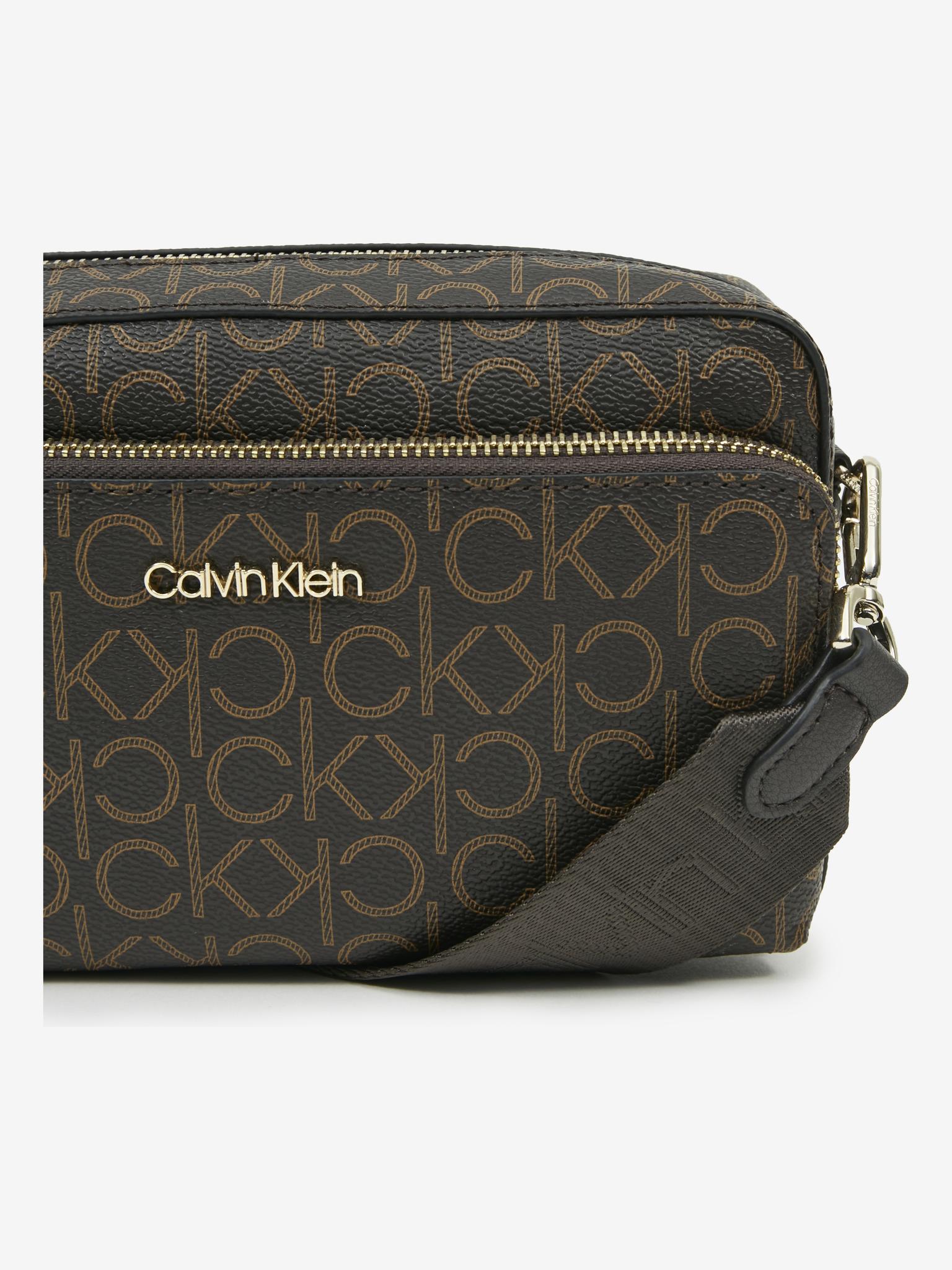 Calvin Klein rjava crossbody torbica Must Camera