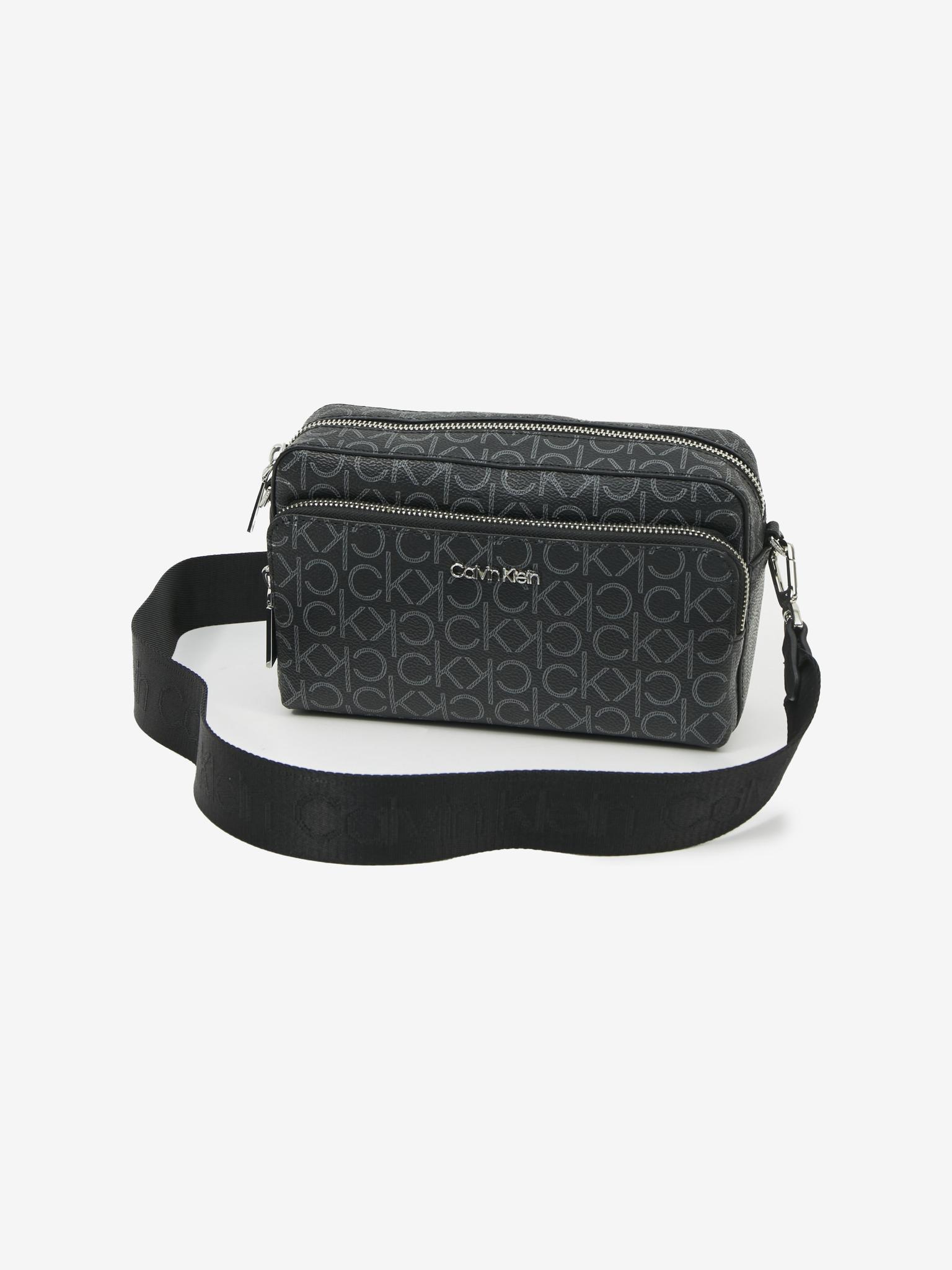 Calvin Klein črna crossbody torbica Must Camera
