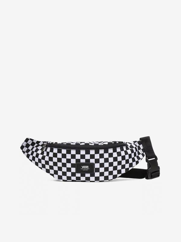 Vans MINI WARD Black/White Check Moške tekaške ledvice - Black