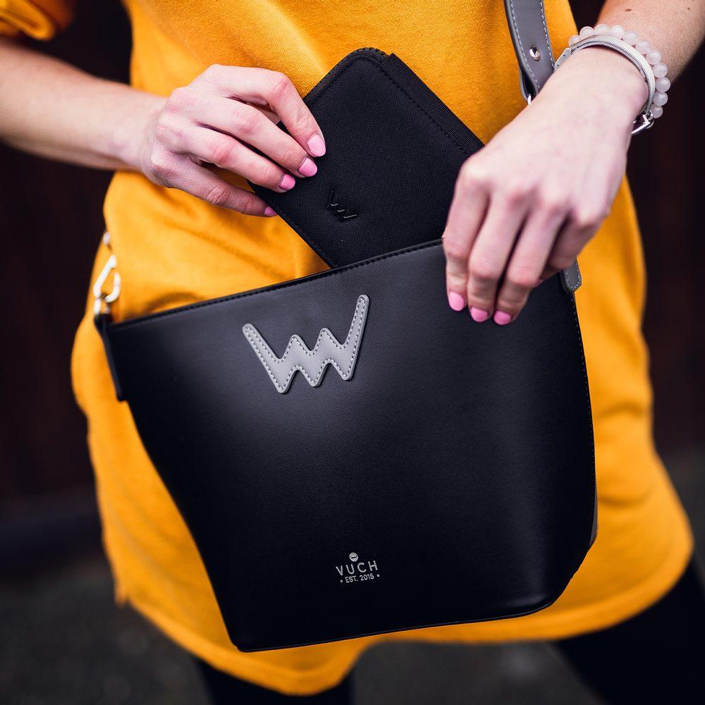 Vuch črna torbica Mikkeline