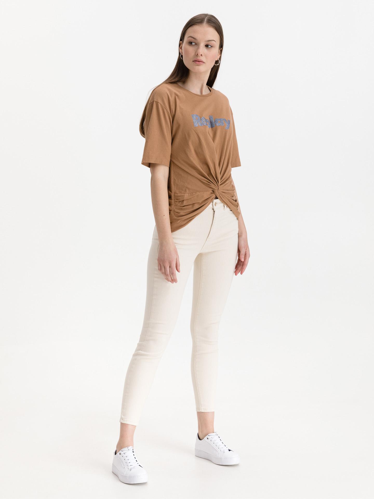 Replay Ženske majice rjava