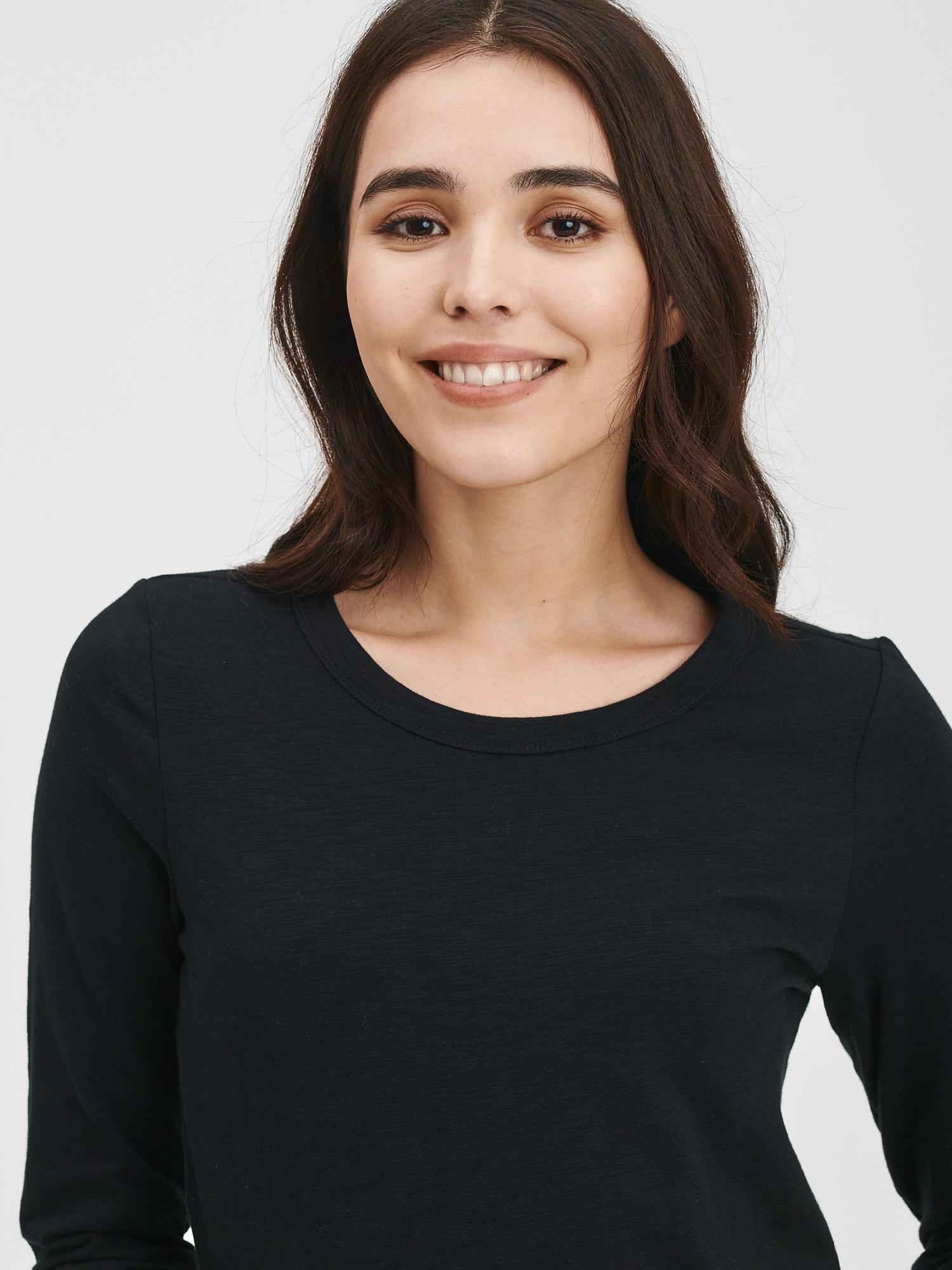 GAP Ženska majica, top črna