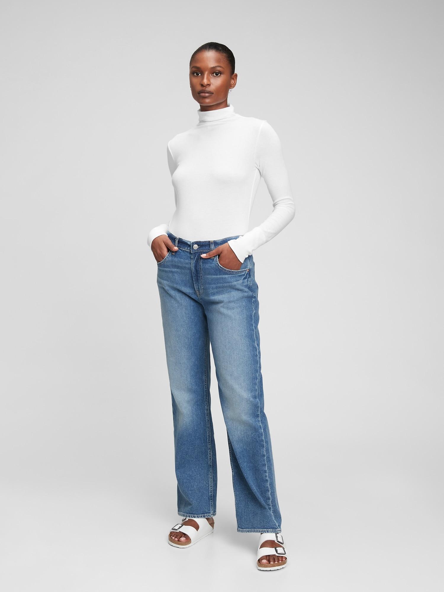 GAP Ženska majica, top bela