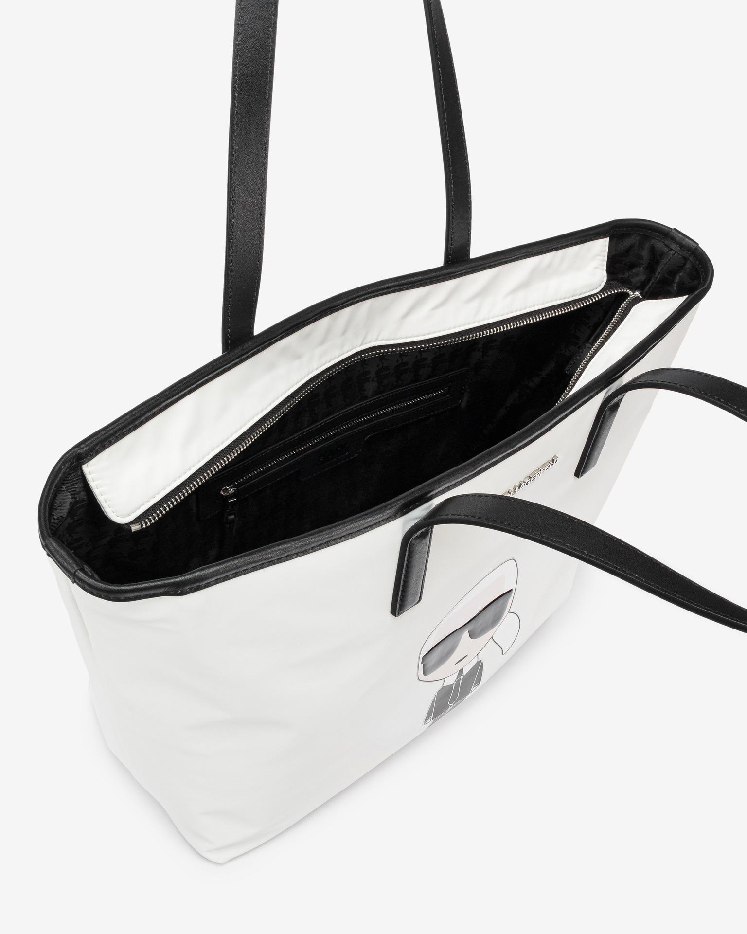 KARL LAGERFELD Ženske torbice bela Kabelka