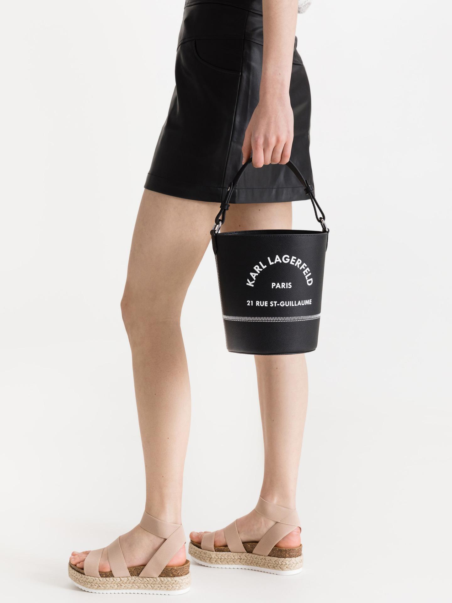 KARL LAGERFELD Ženske torbice črna  St