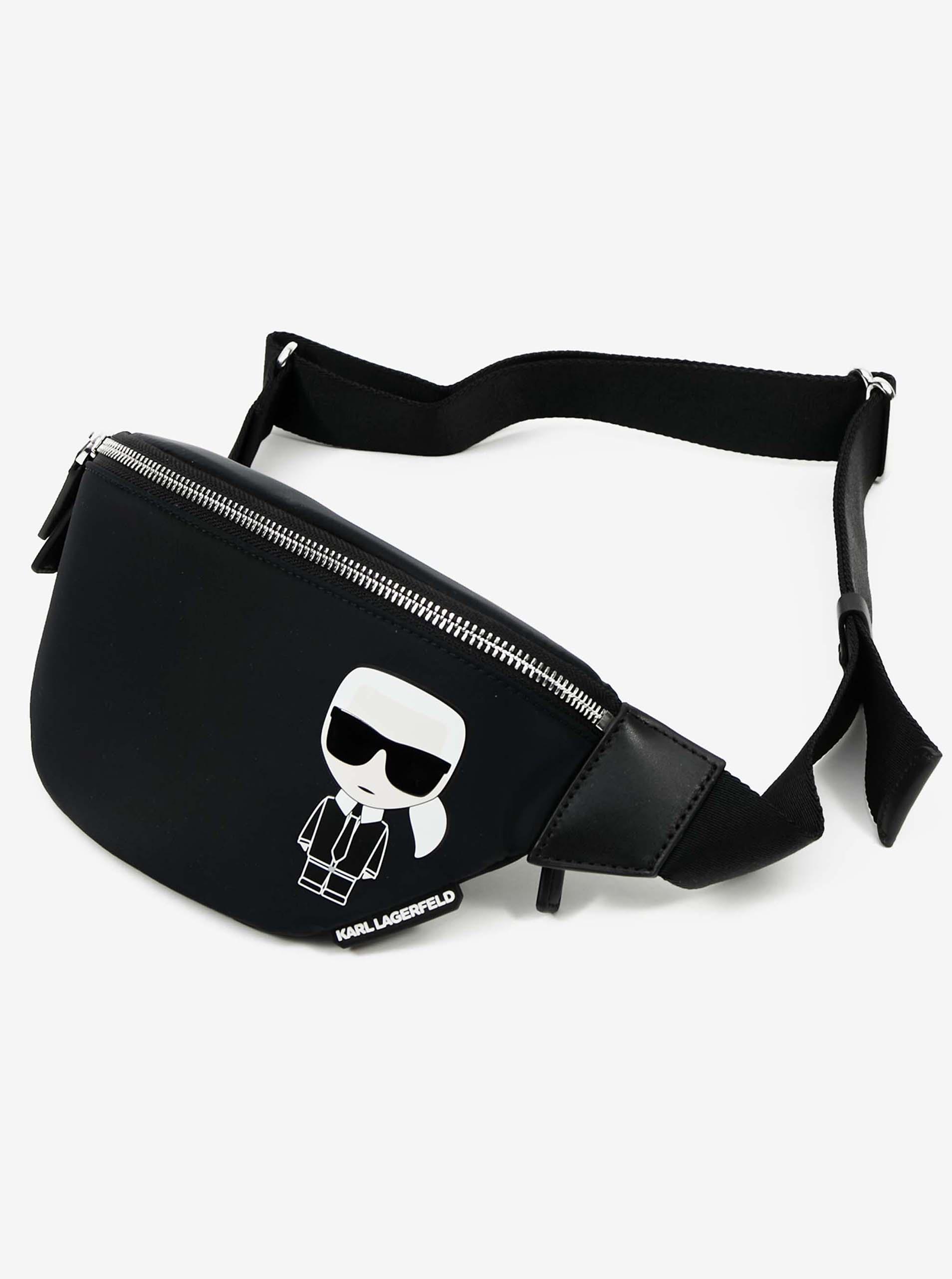 KARL LAGERFELD Ženske torbe okoli pasu črna