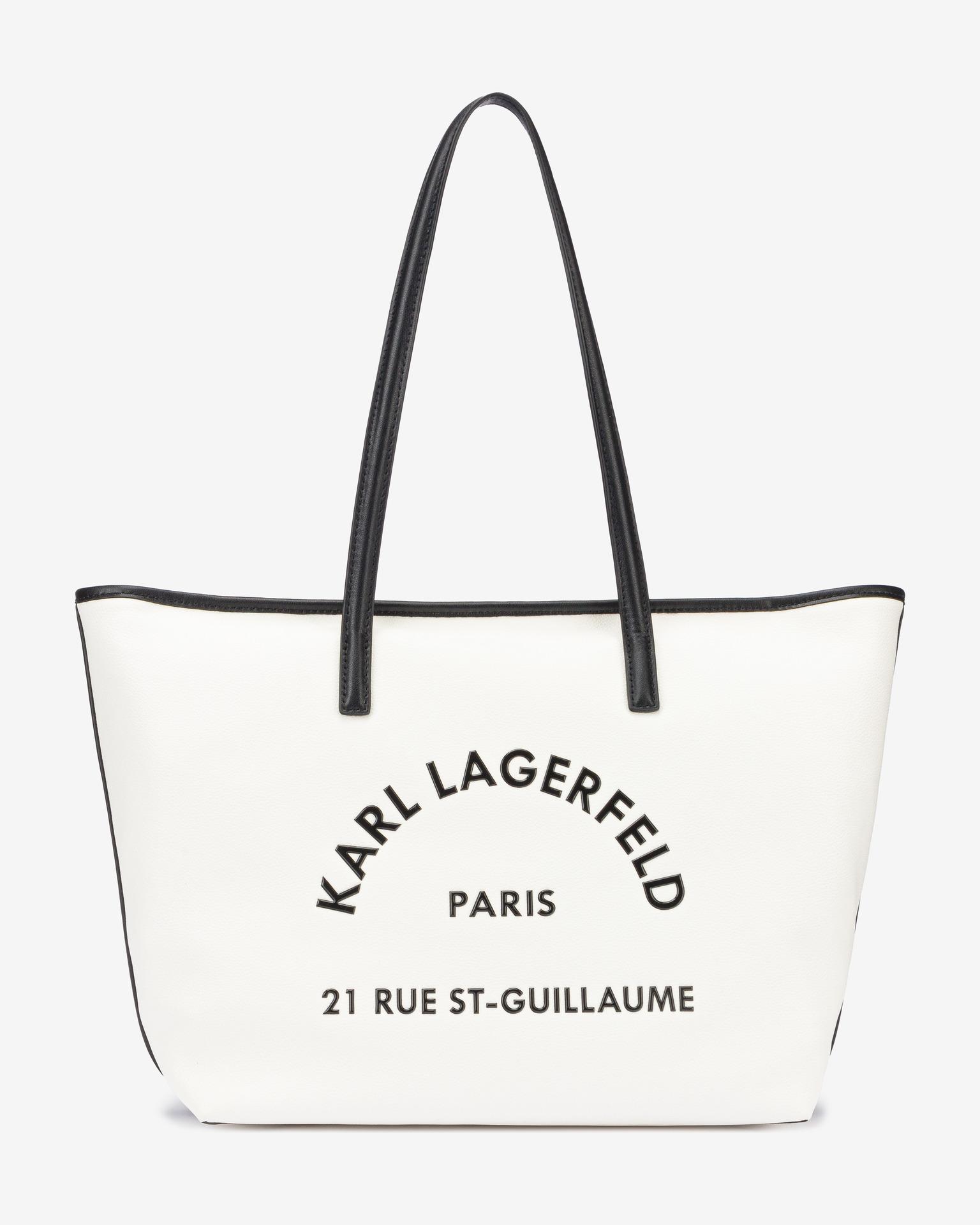 KARL LAGERFELD Ženske torbice bela  St