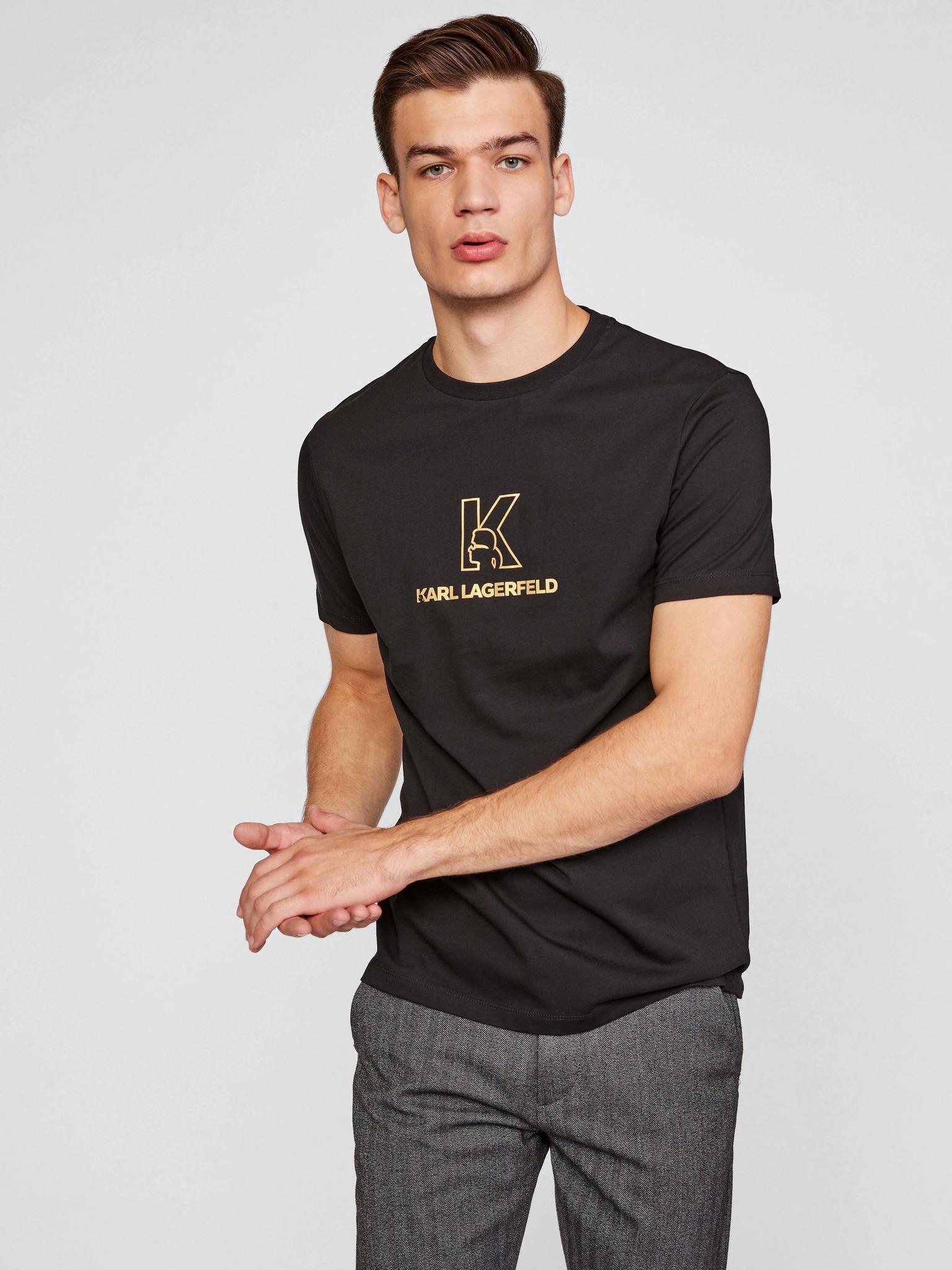KARL LAGERFELD Ženske majice črna