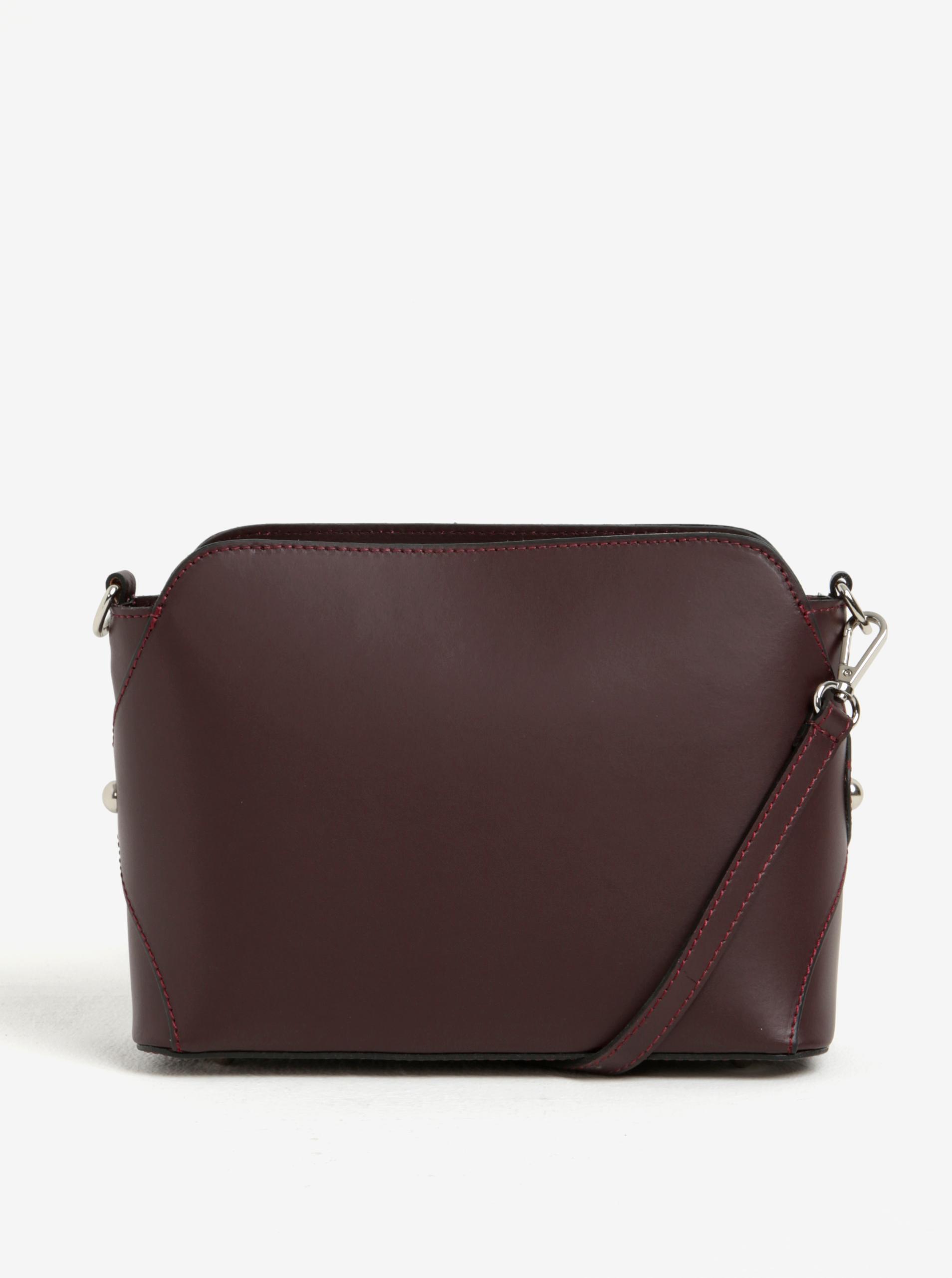KARA Ženske torbice vinsko rdeča
