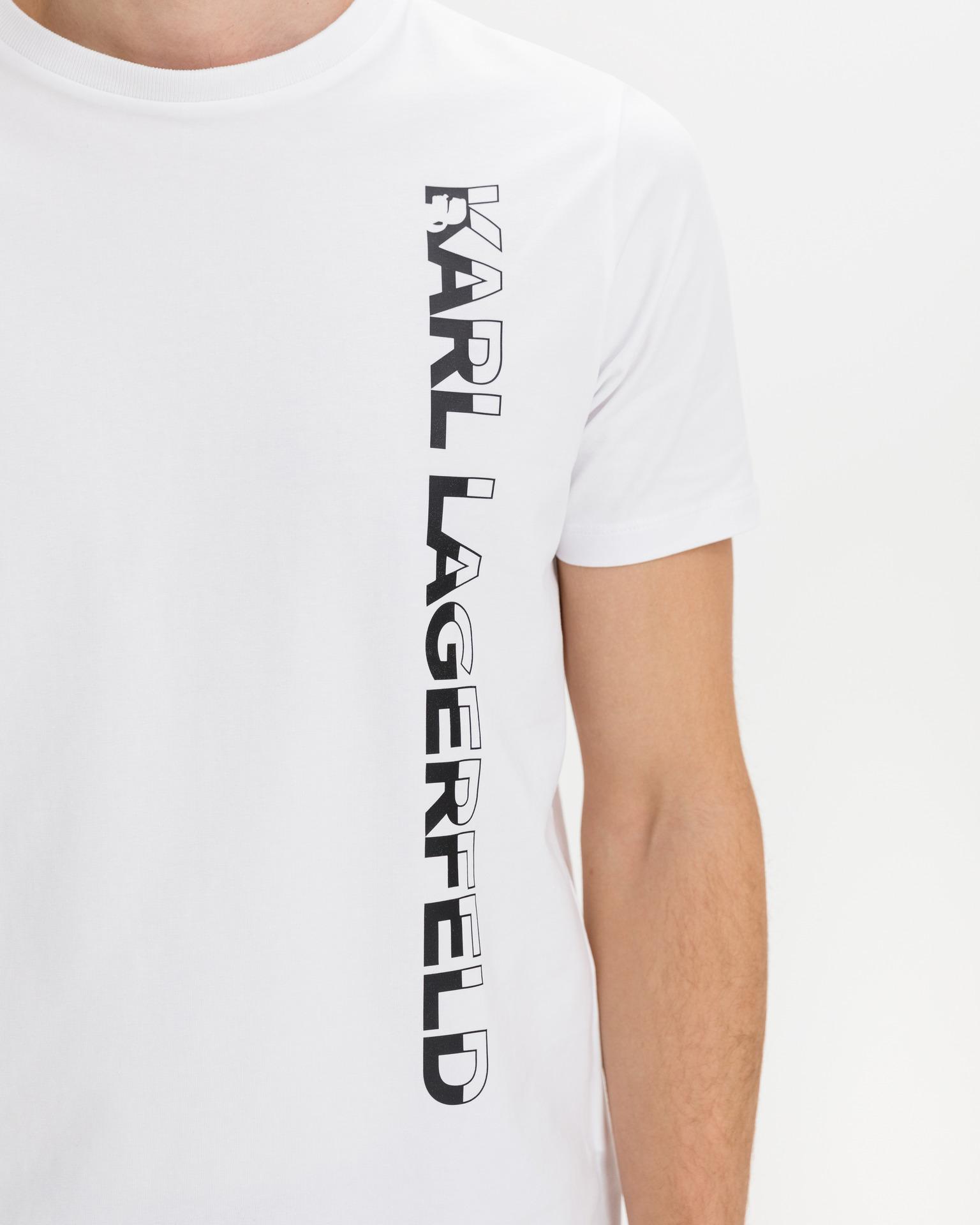 KARL LAGERFELD Ženske majice bela