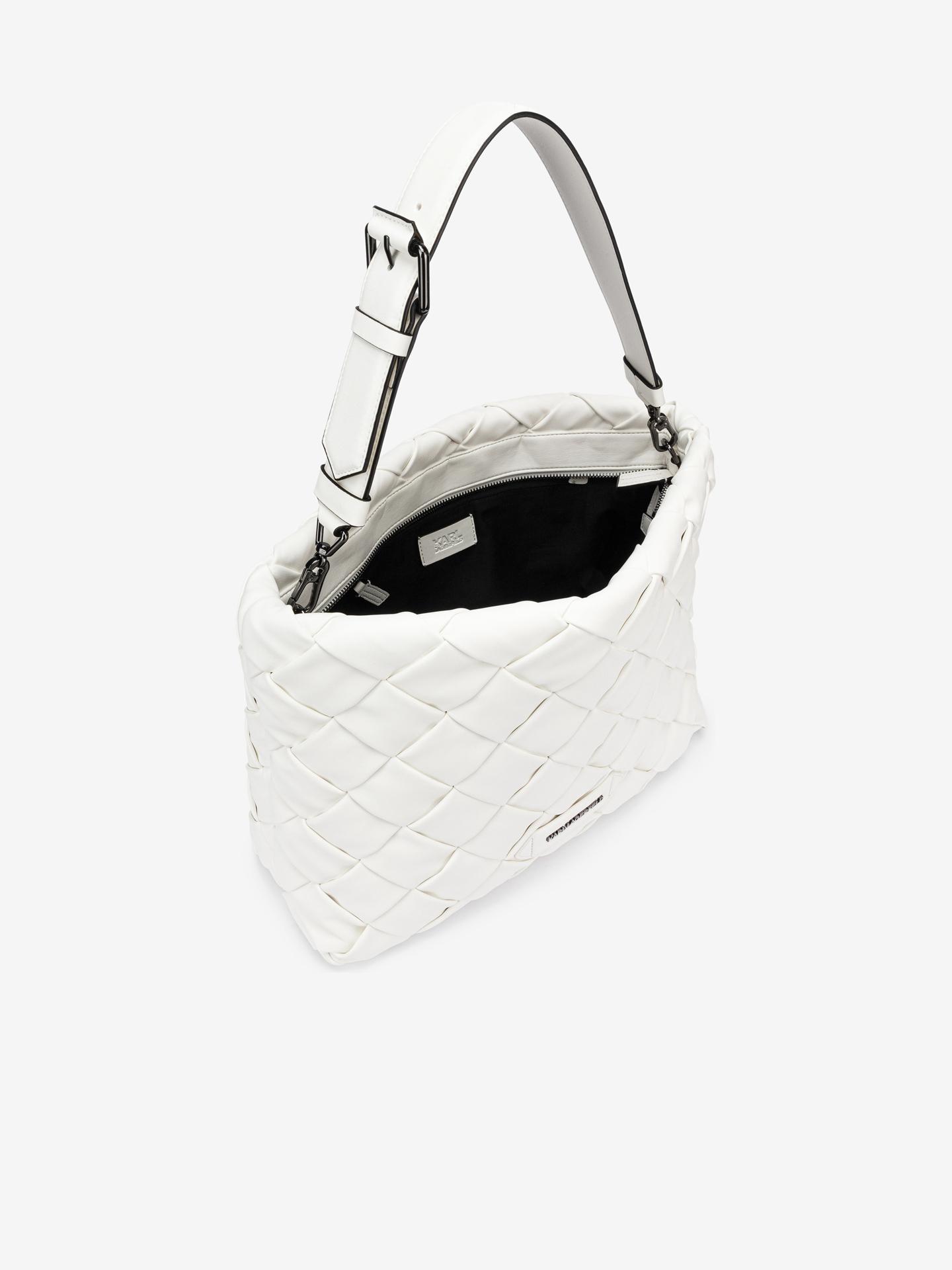 KARL LAGERFELD Ženske torbice bela  Braid