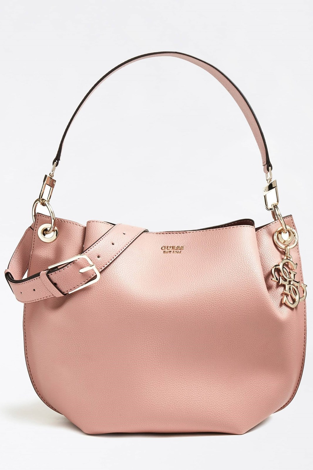 Guess roza torbica Digital Hobo