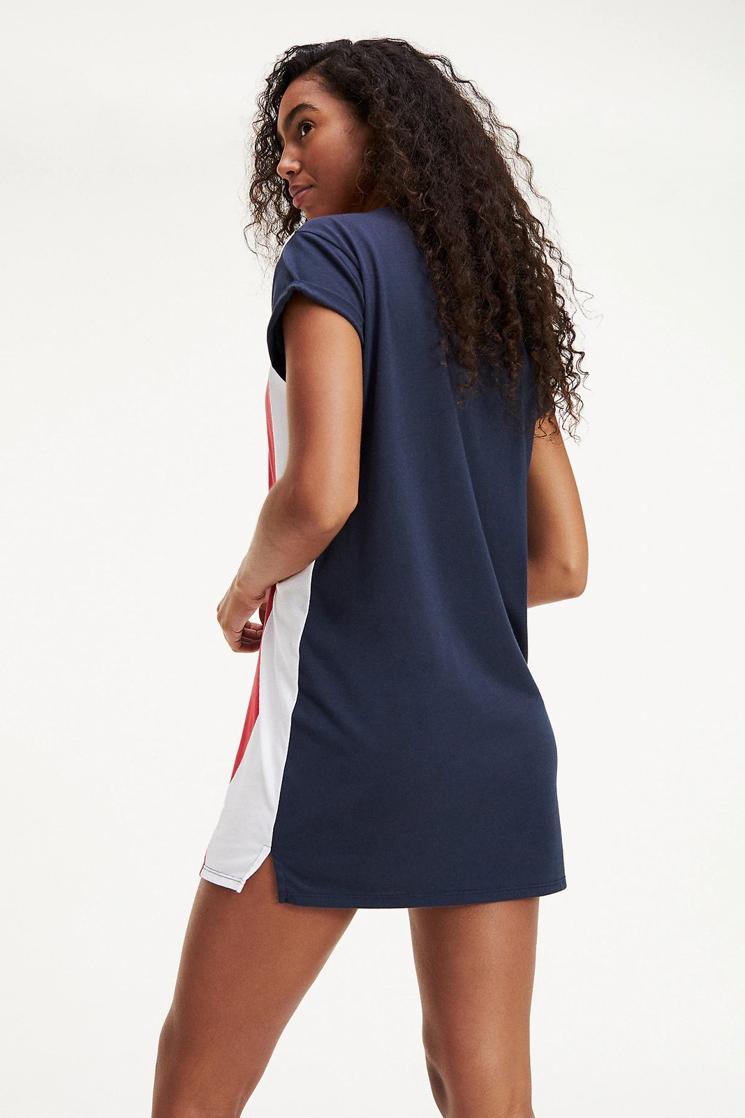 Tommy Hilfiger barvita obleka T-shirt Dress