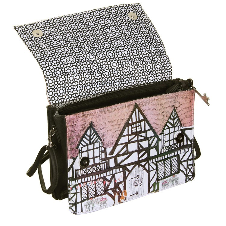 Disaster barvita crossbody torbica Home Tudor Mini Bag