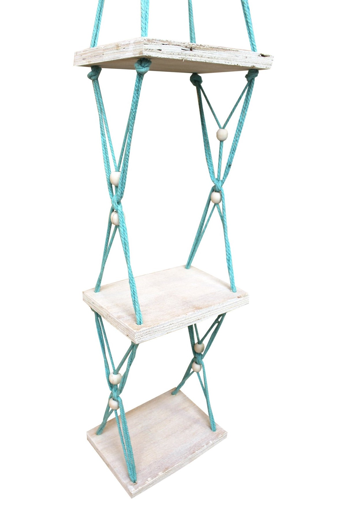 Disaster Macrame Shelf Light Blue