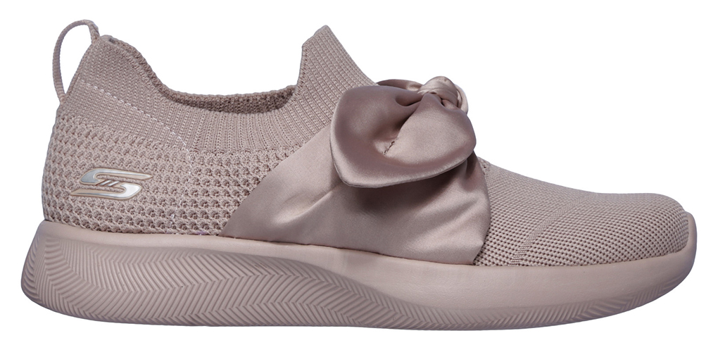 Skechers slip on Bobs Squad 2 Bow Beauty