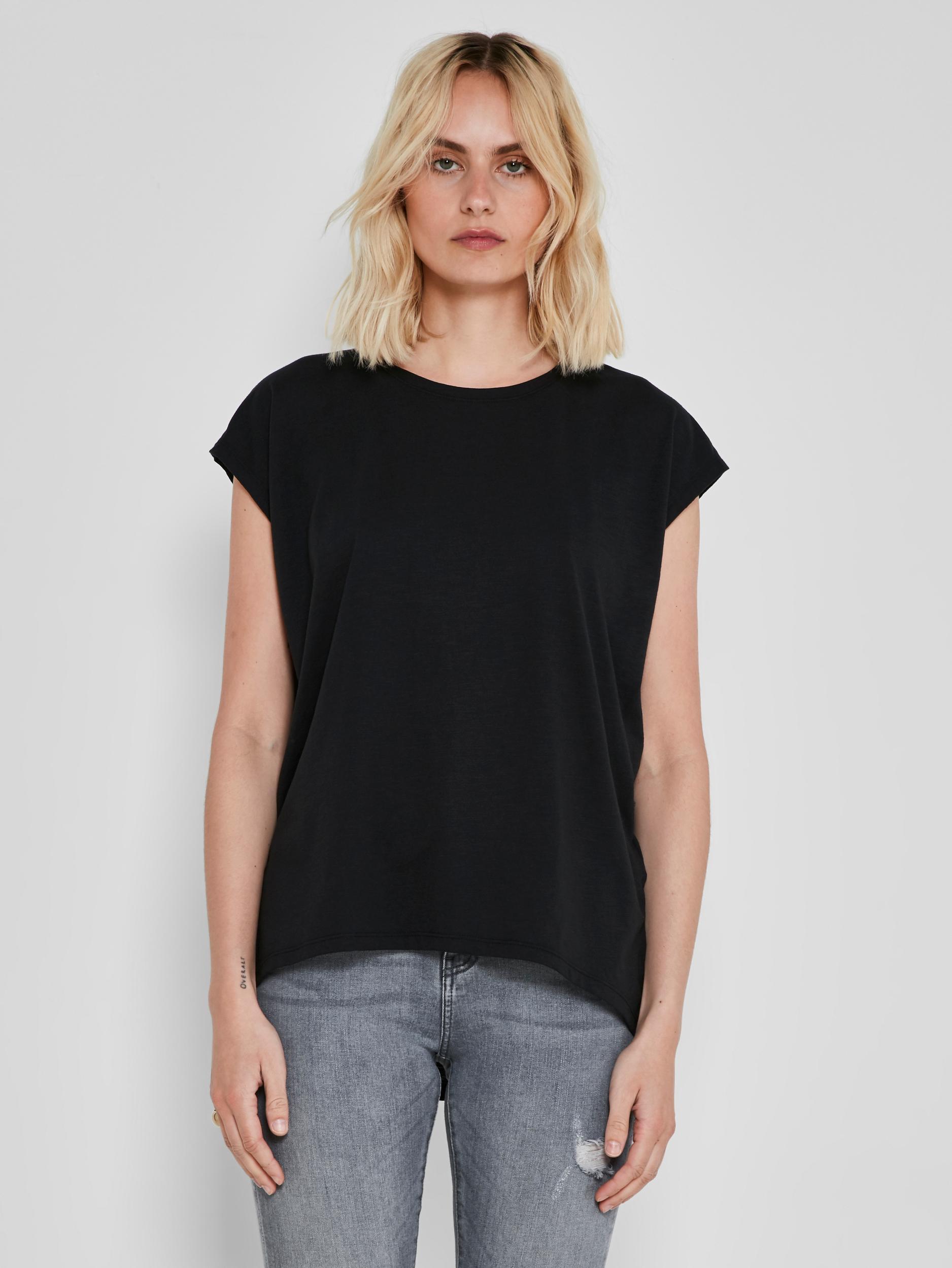 Črna osnovna majica Noisy May Mathilde