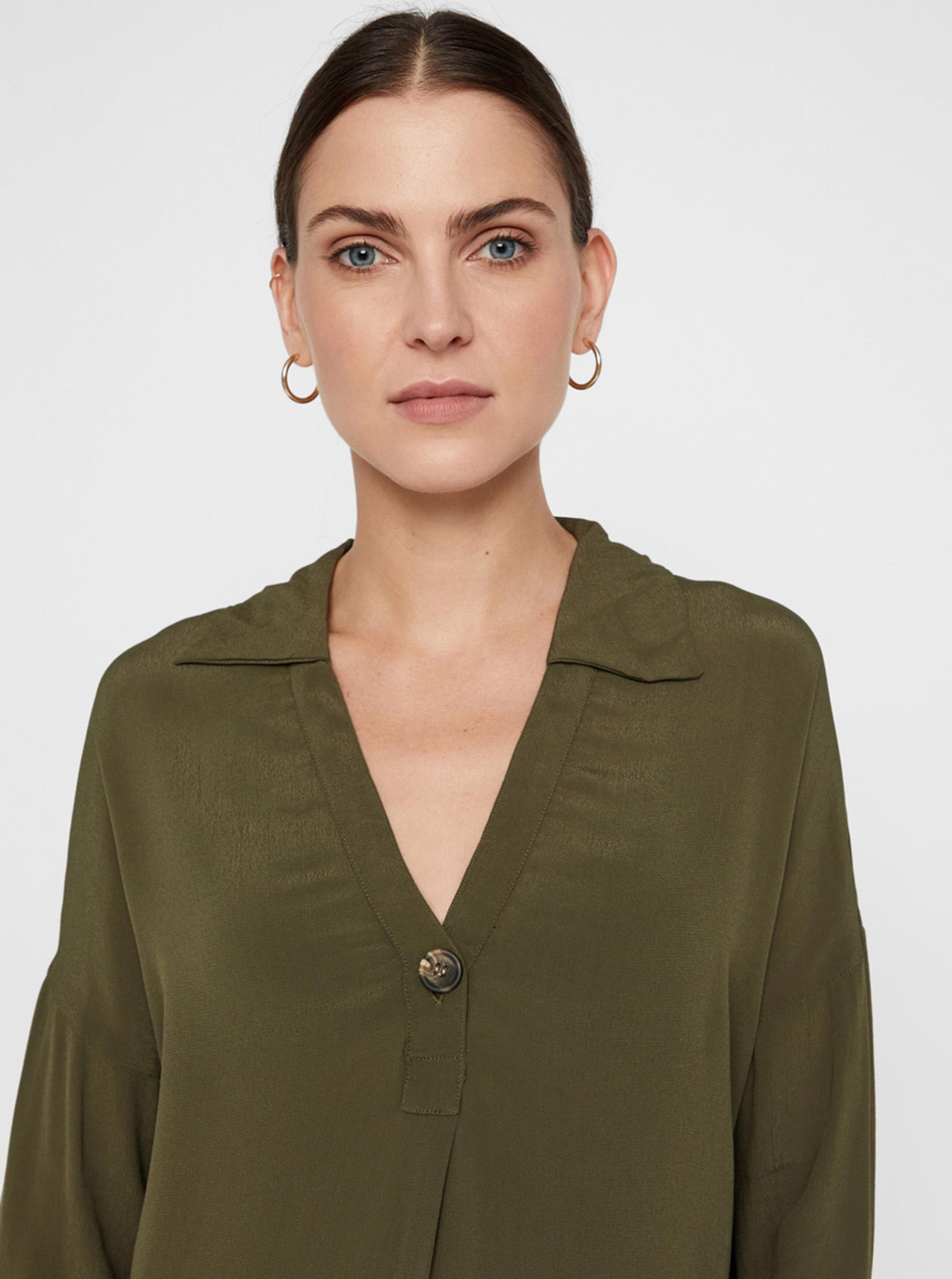 Khaki bluza Noisy May Jackie