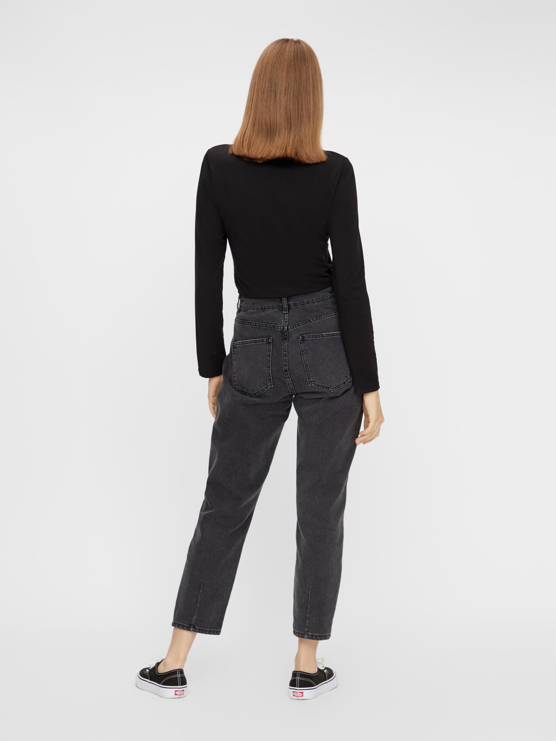 Črna osnovna majica Pieces Sirene