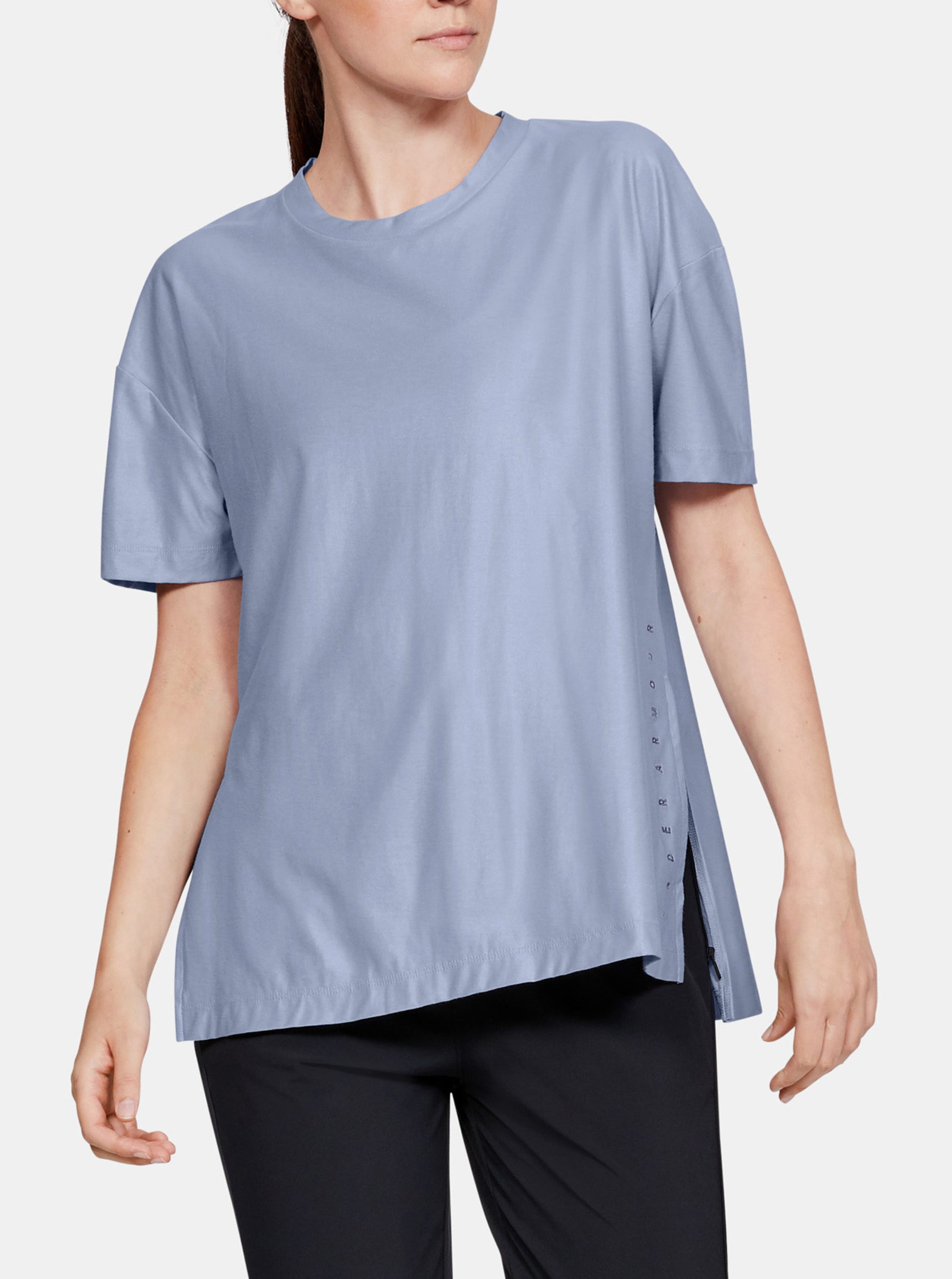 Majica Under Armour Unstoppable Cire Side Slit Tunic Ssc-Blu