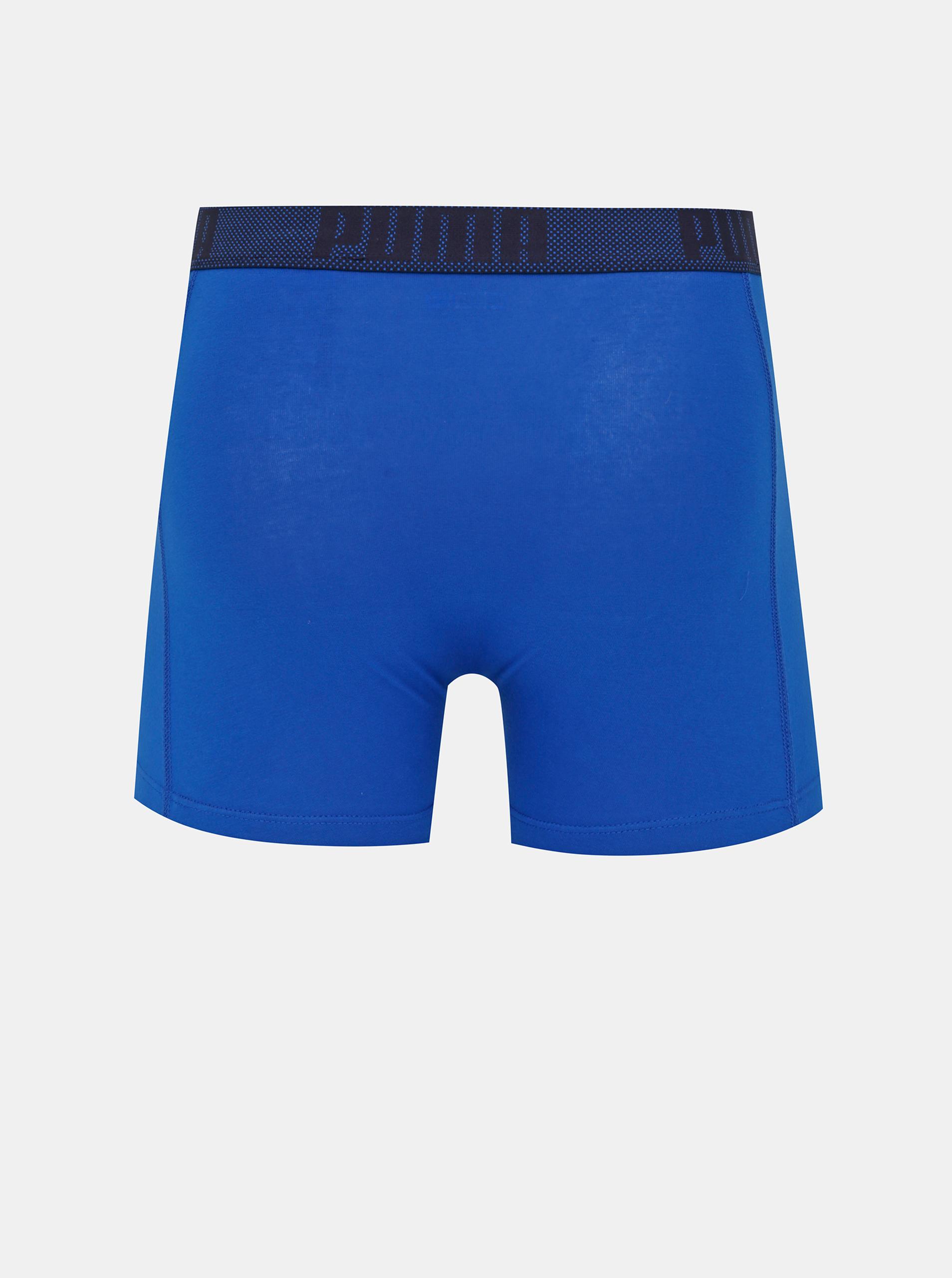 Komplet dveh modrih boksaric Puma