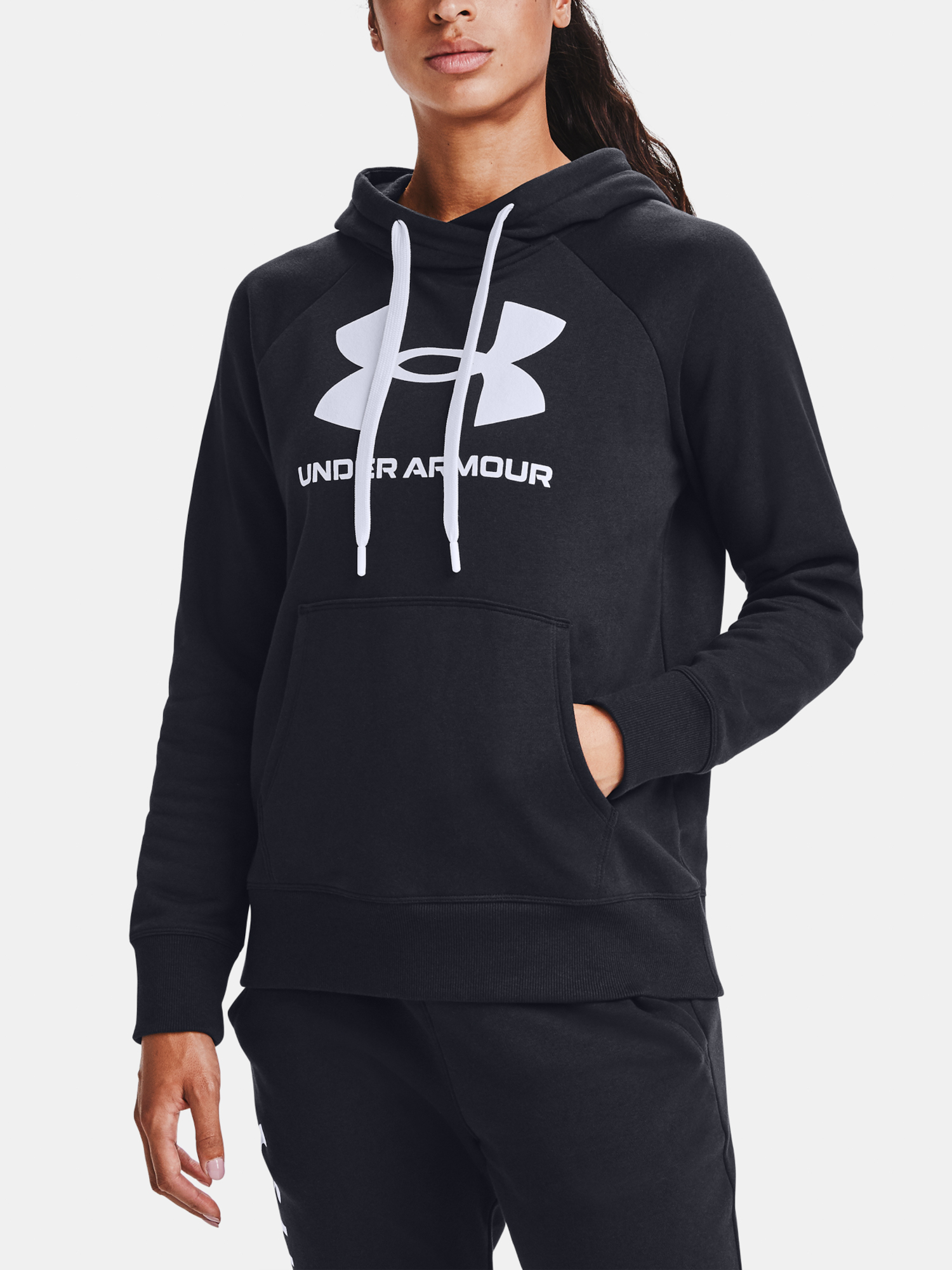 Jopa Under Armour Rival Fleece Logo Hoodie-BLK