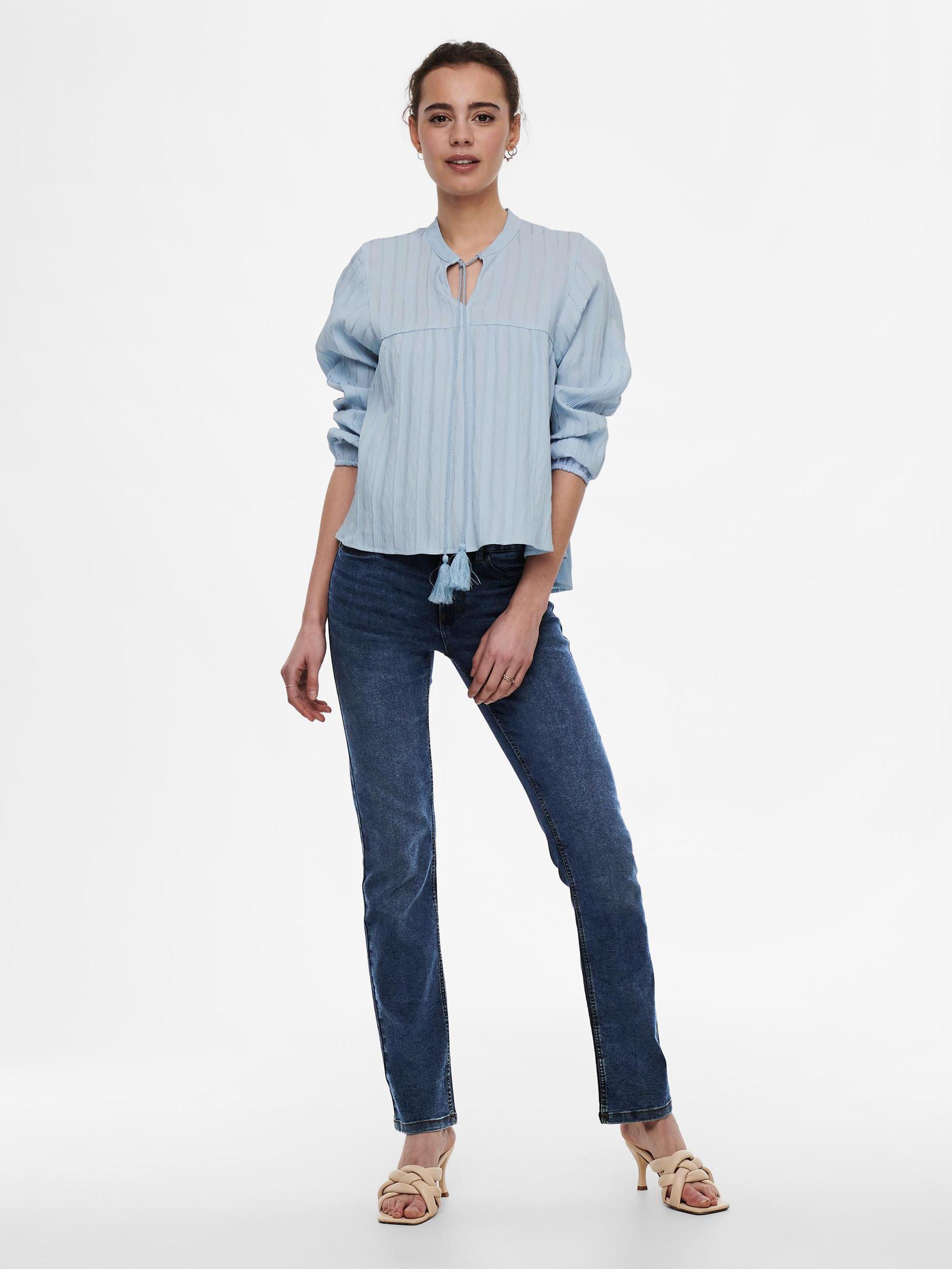 Only modra ženske bluza Elisa