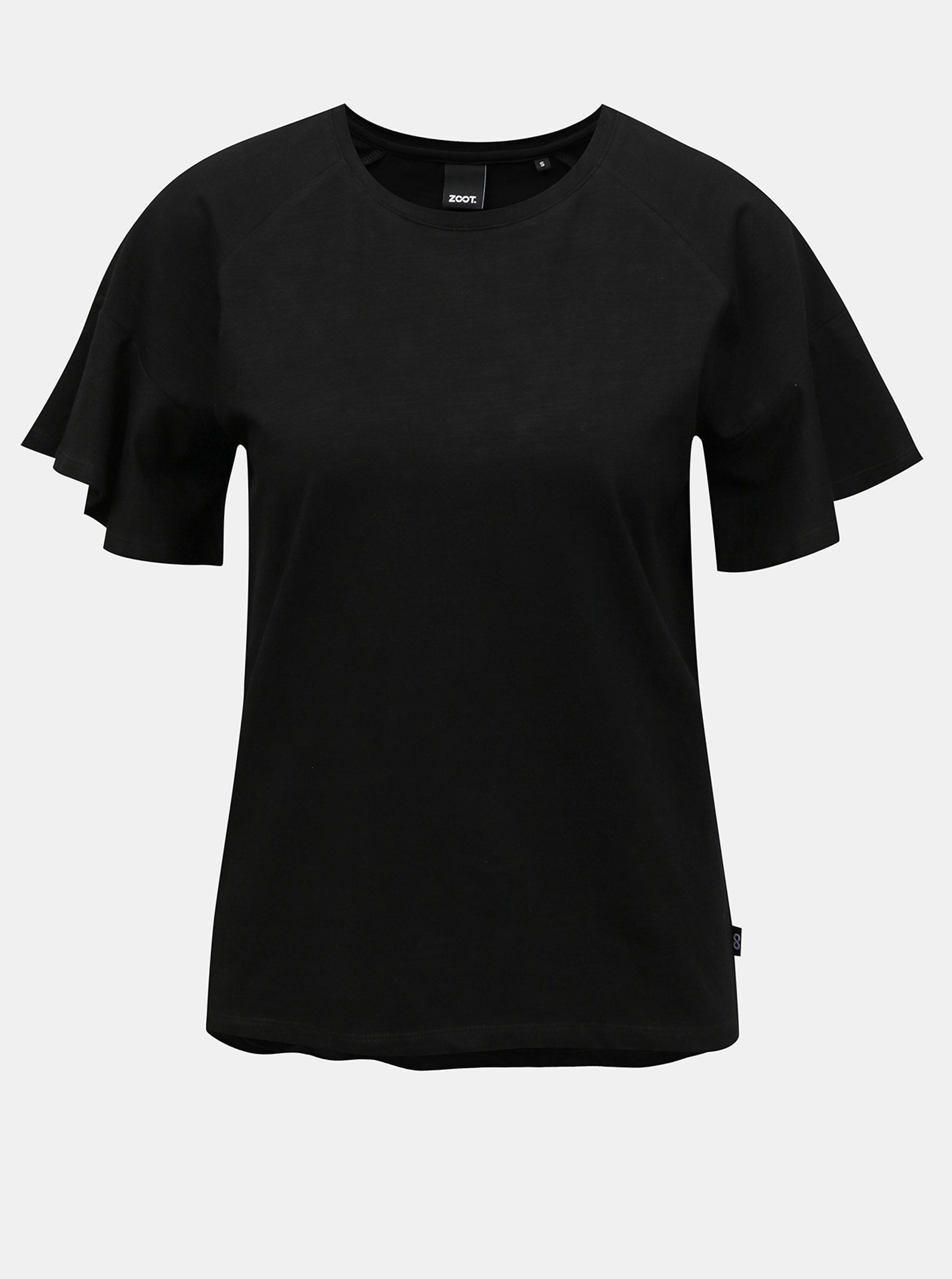 ZOOT črna ženska majica Aurelia