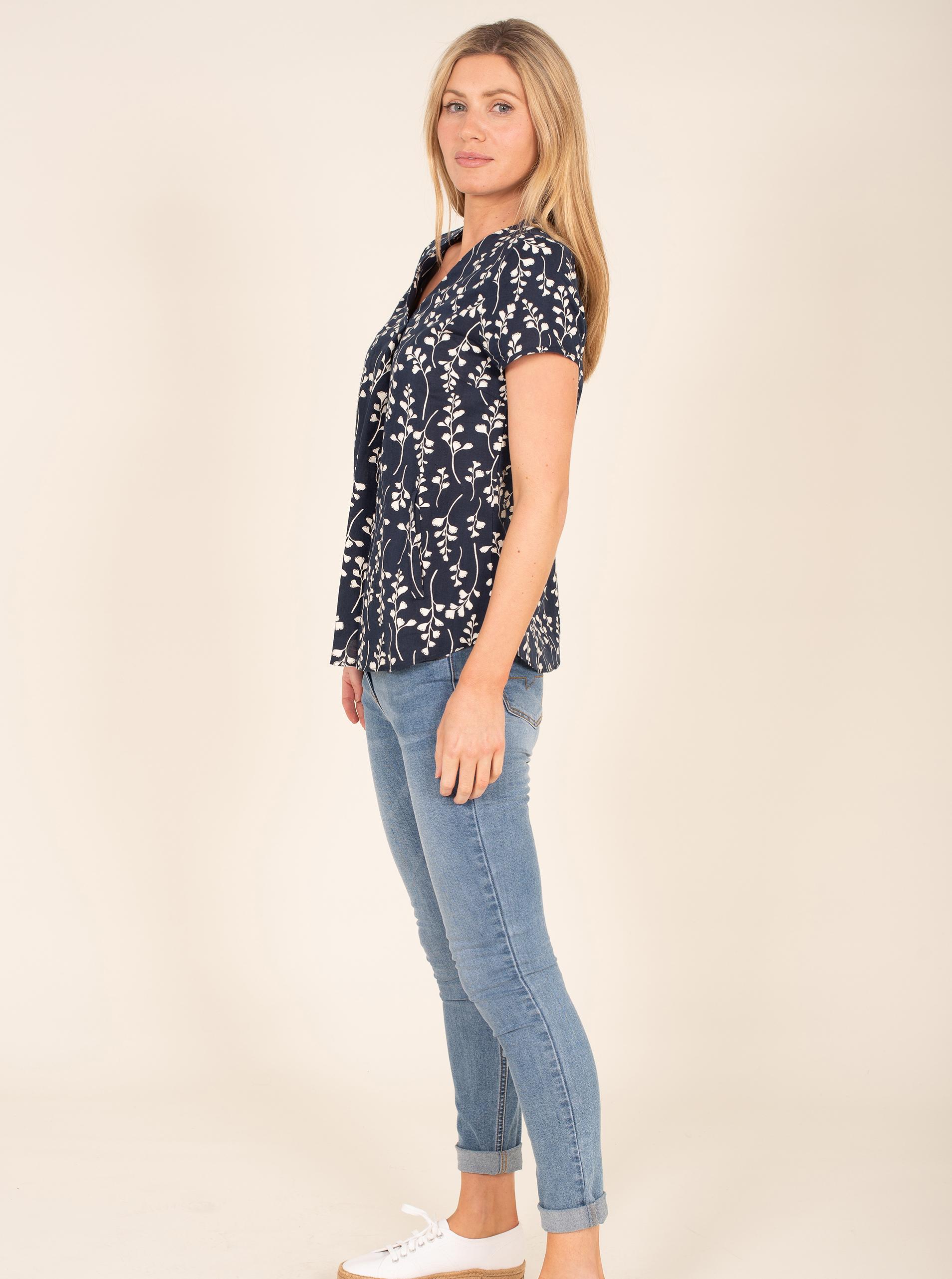 Brakeburn bluza s cvetličnim motivom