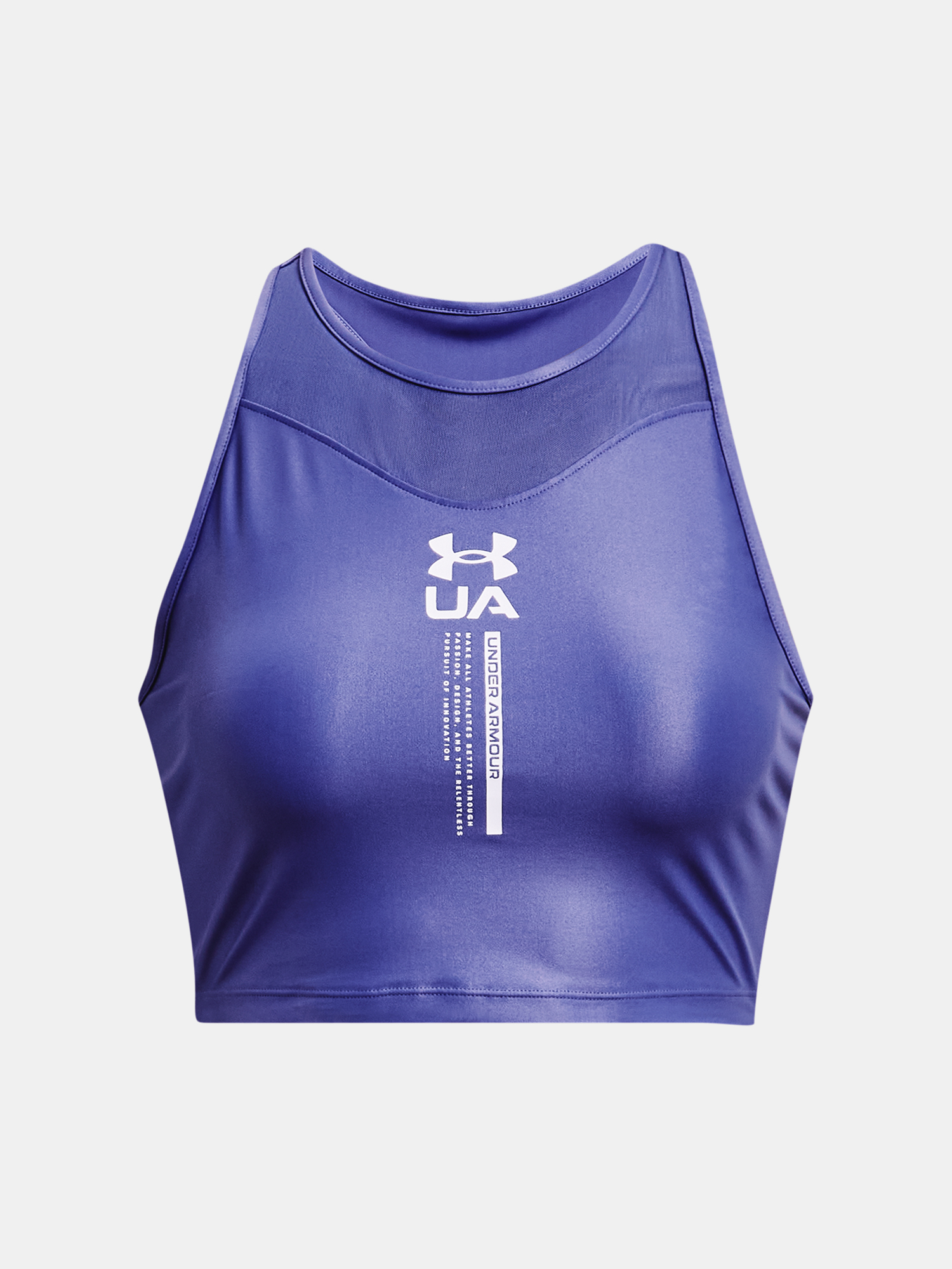 Top Under Armour Iso Chill Crop Tank-PPL