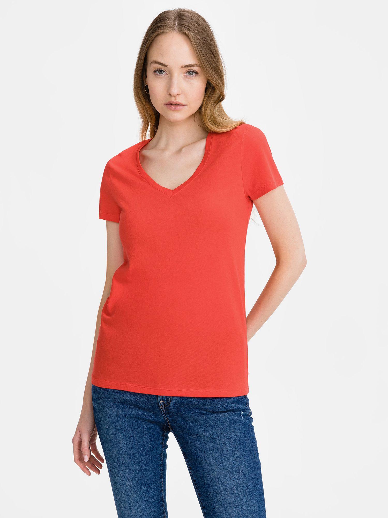 GAP rdeča majica Favorite